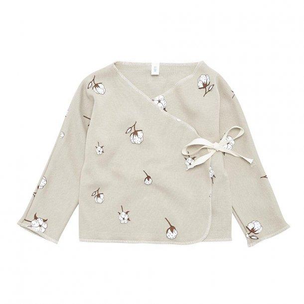 Organic zoo, kimonobluse cotton print