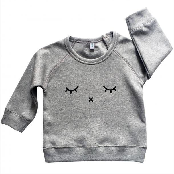 Organic zoo, Sweatshirt - Sleepy grå
