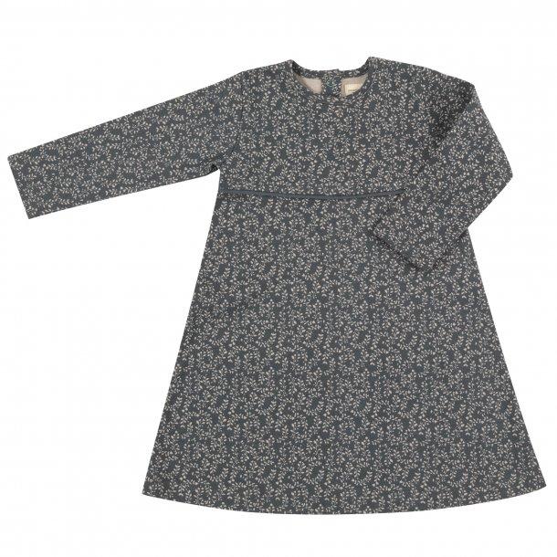 Pigeon Organics, teal leaf kjole