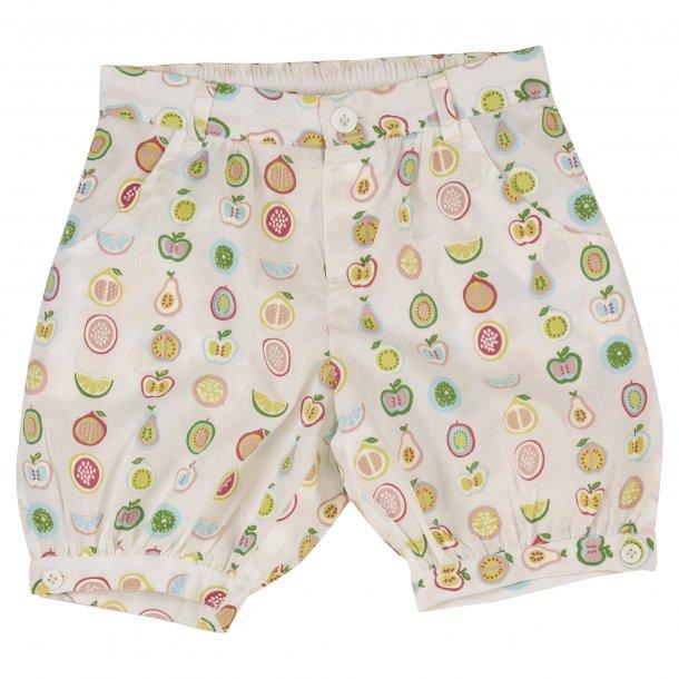 Pigeon Organics, shorts fruit print