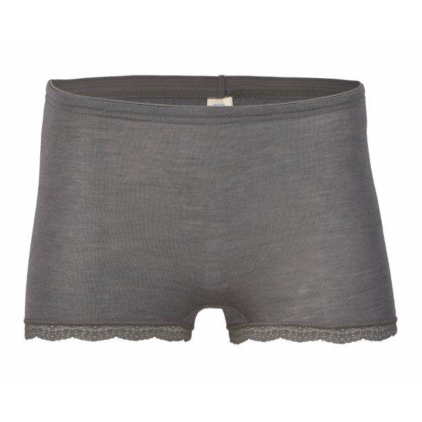 Engel, pants til dame, uld/silke taupe