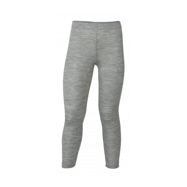 Engel, uld/silke, Grå leggins