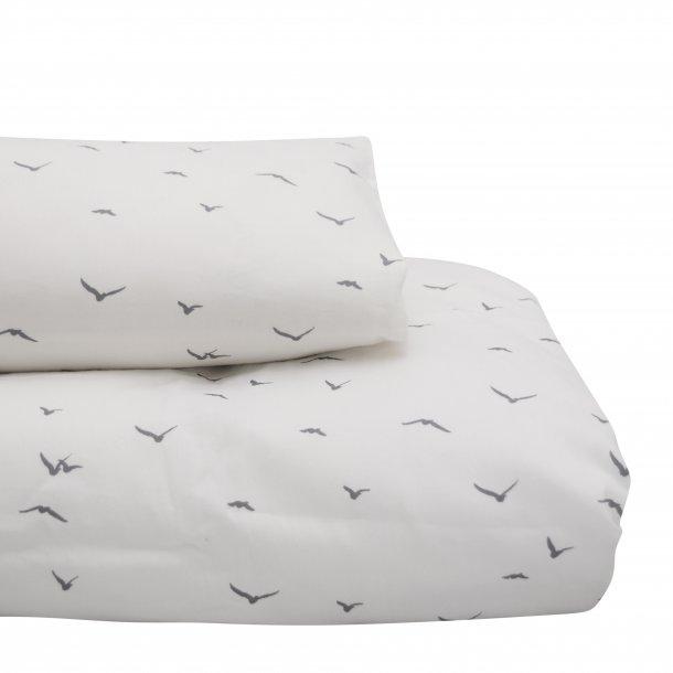 Petit by V, Baby sengetøj, offwhite m. svaler
