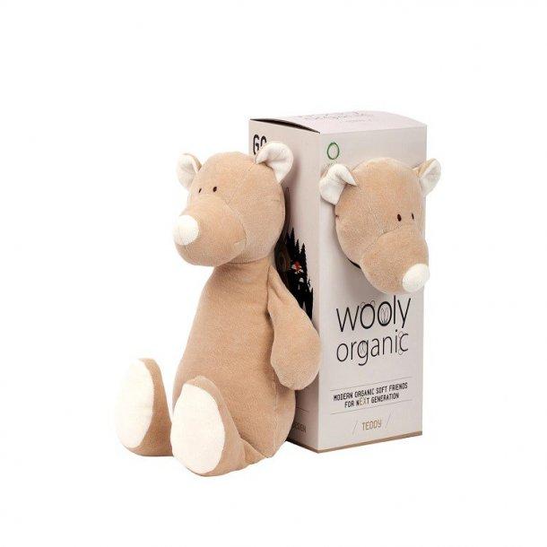 Wooly organic bamse 17.5 cm,